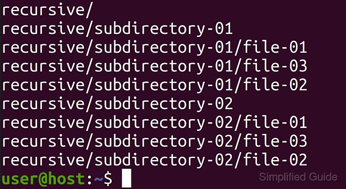 What X27 S The Easiest Way To Recursively Get A List Of All The Files In