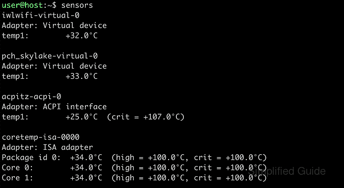 How to view thermal information in Linux