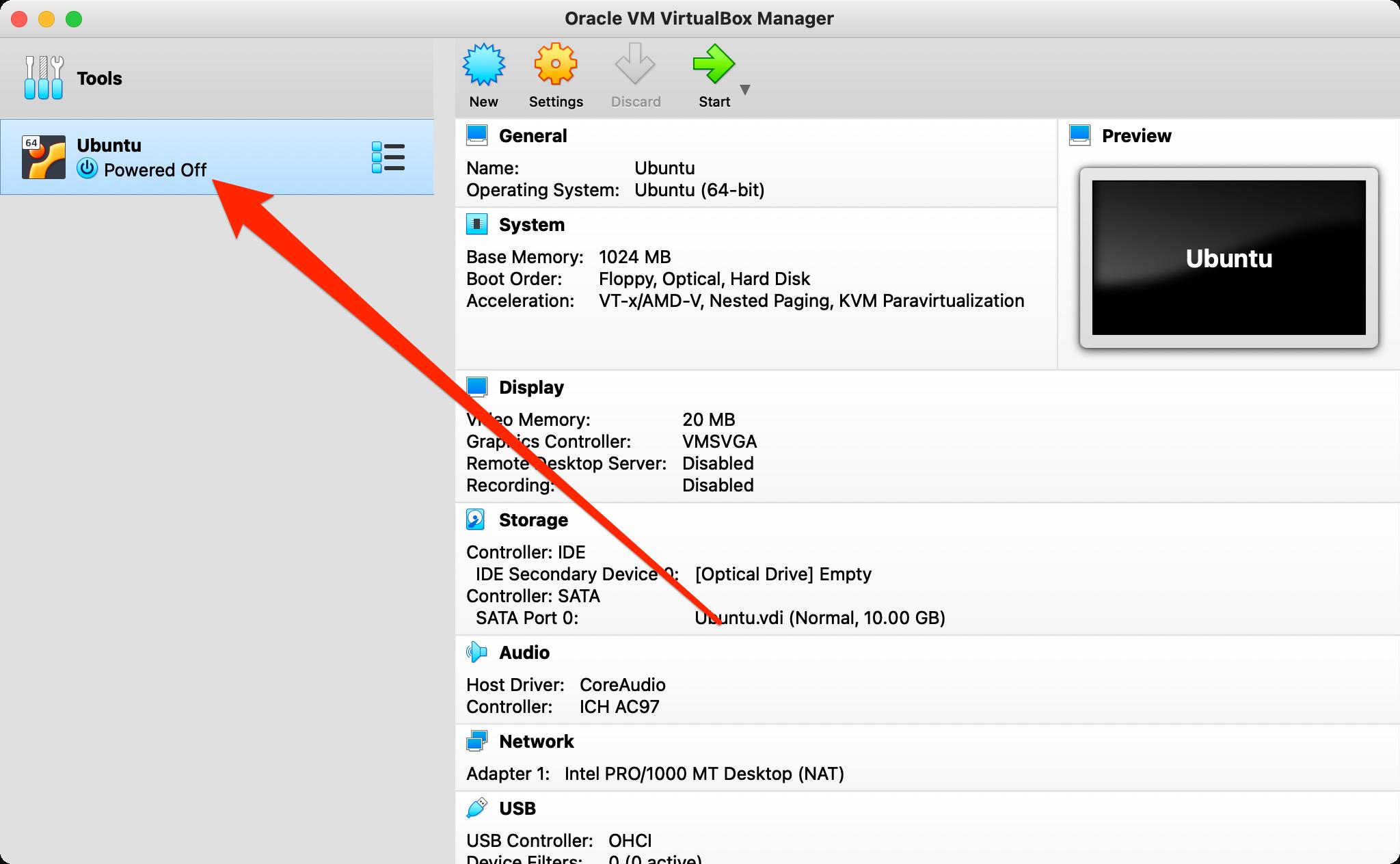 How to configure port forwarding in VirtualBox